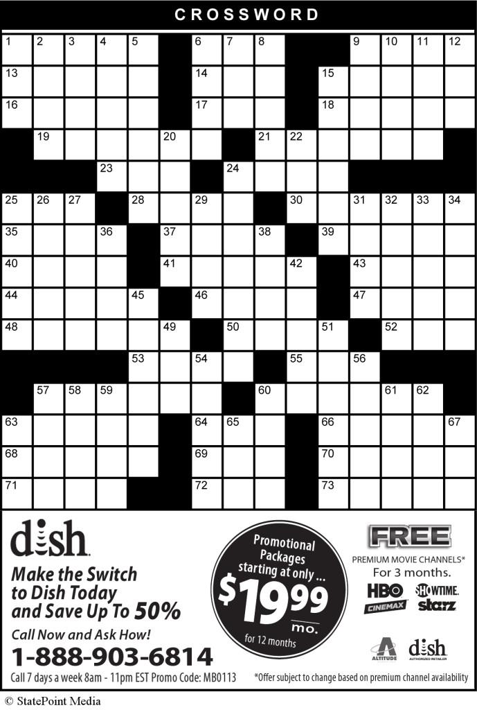 5-16-13 CW Puzzle
